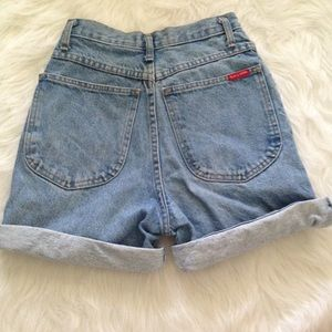 Pants - Vintage Made in the Shade high waisted jean shorts
